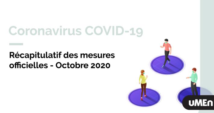 Visuel mesures octobre 2020